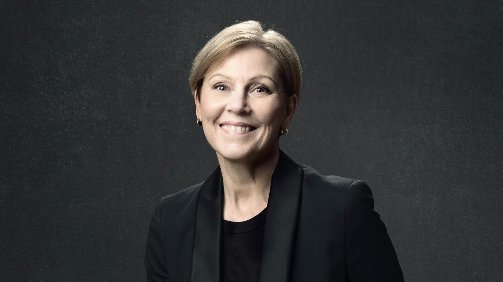 Porträttbild av Christina Björklund