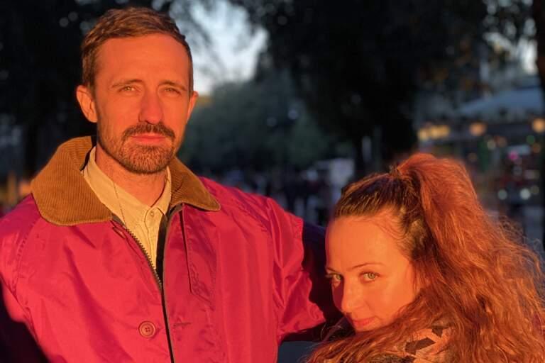 Paul Blackman och Christine Gouzelis