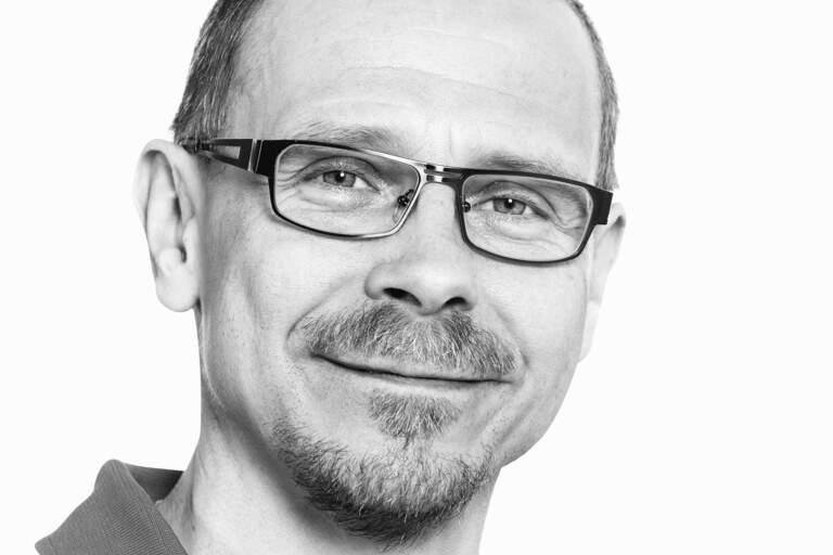 Porträtt av Hans Nyberg