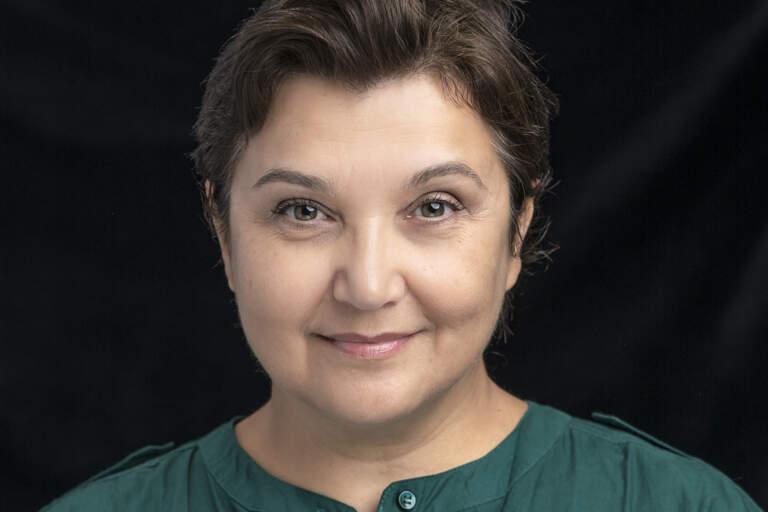 En porträttbild av Vera Veljovic