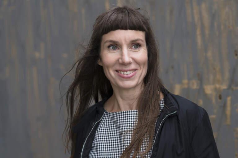 Porträtt på Mirja Unge